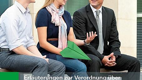 Erläuterungen zur Verordnung über die teilnovellierte Berufsausbildung